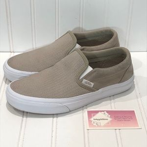 Vans Off The Wall Taupe Shoes